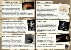 Studio le Rocher Concerts solo et looper